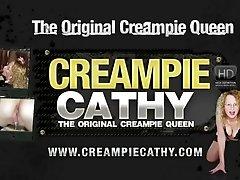 Sloppy Anal Creampie Gangbang -...