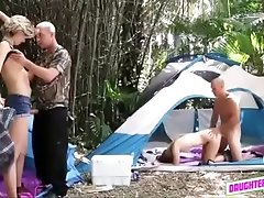 Campground Fucking Orgy With...