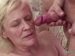xhamster Young Seduce Grandma to get...
