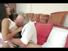 xhamster brunette angel for old man