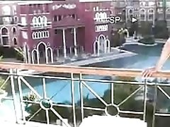 amateur filmed self in holidays...