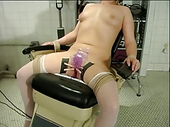 xhamster Small tits chick bound to a...