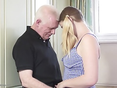 Lusty matures fuck sexy young meat