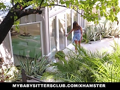 Gorgeous Babysitter Gets Fucked...