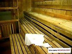 xhamster Sex in sauna WCAM18.COM