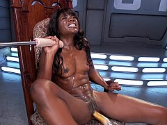 xhamster Athletic black woman with big...