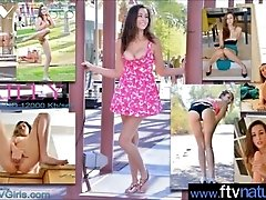 Cute Girl (Bailey) First Time On...