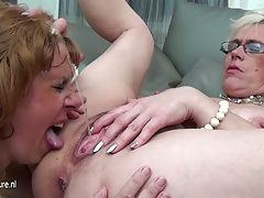 xhamster Three old and young lesbians...