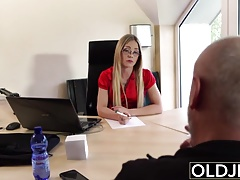 xhamster Old Young - Blonde blowjob and...