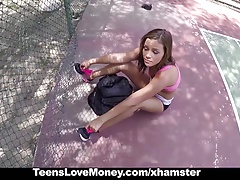 TeensLoveMoney - Tennis Slut...