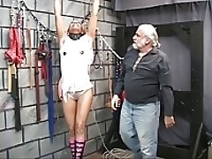 xhamster Cute young black bdsm babe gets...