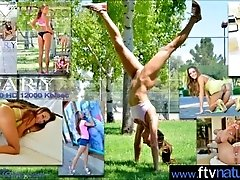 Hot Teen Girl (Mary) First Time...