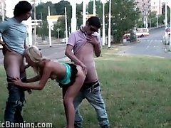 xhamster Pretty blonde girl street PUBLIC...