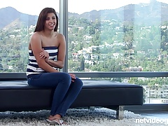 Latina First Timer fucks on...