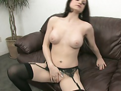 Hot slut needs two toys to...