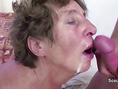 xhamster Young Man Seduce His old Grandma...