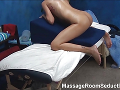 Tall Teen Seduced by Massage...