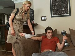 xhamster Tanya Tate and her son's...