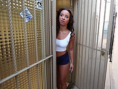 xhamster Ebony babe gets pounded at the...