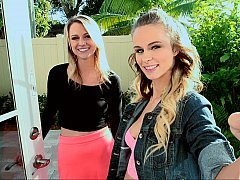xhamster Lilli Dixon and her friend Molly...