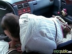Hot Euro Girl Get Outside Sex On...