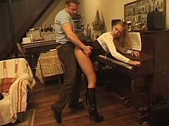 xhamster Young musician ass fucked during...