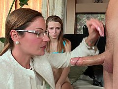xhamster Stepmom joins young couple