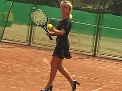 xhamster European tennis players get...