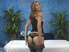 xhamster Young masseuse stripping