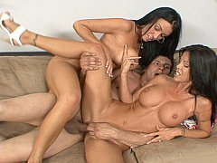 xhamster Two MILFs get fucked and creamed...