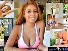 Teen Hot Girl (Sarai) Strip And...
