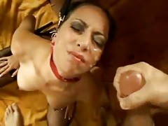 Young wife bound and takes...