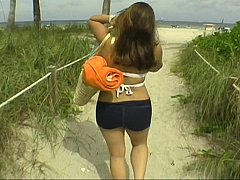 xhamster Beautiful day at the beach, with...