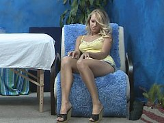 xhamster Young blonde pretty massagist