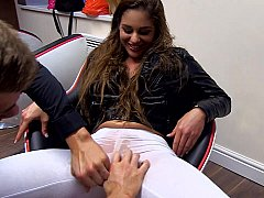 xhamster Horny girl gets fisted by her...