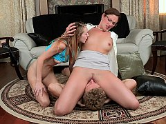 xhamster Mom teaching young couple