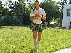 xhamster Schoolgirl giving head
