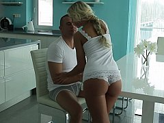 xhamster Horny young European blondie