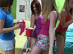 xhamster A group of cute girls striping...