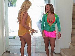 xhamster Naughty Kennedy and her step-mom...
