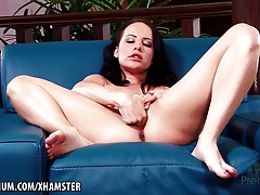 xhamster Katie St Ives plays with her...